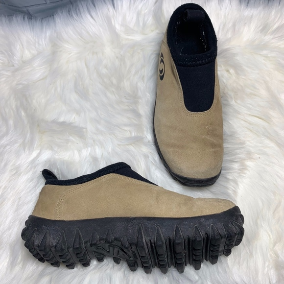 best service lower price with arriving Salomon Shoes | Contagrip Suede Hiking Slip On 75 | Poshmark